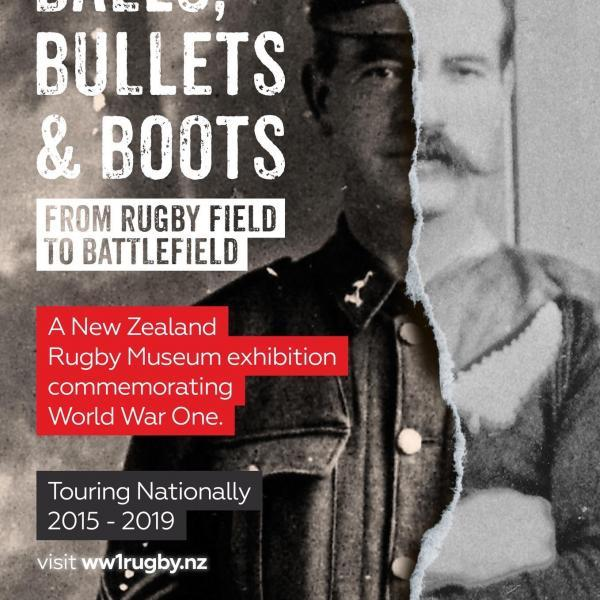 Balls, Bullets & Boots Exhibition