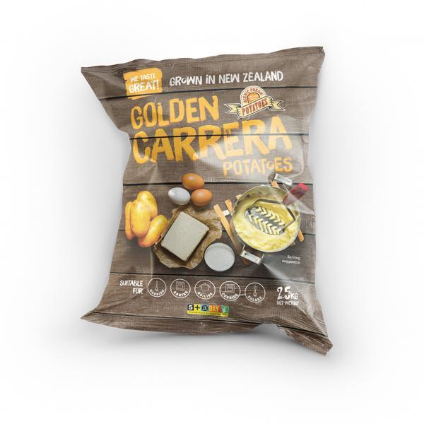 Gropak Golden Carrera Potatoes Bag