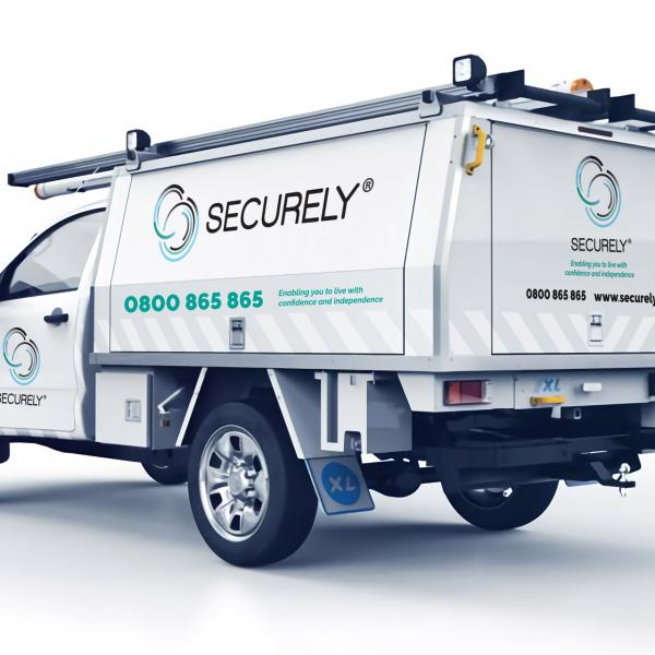 Securely Work Vehicle