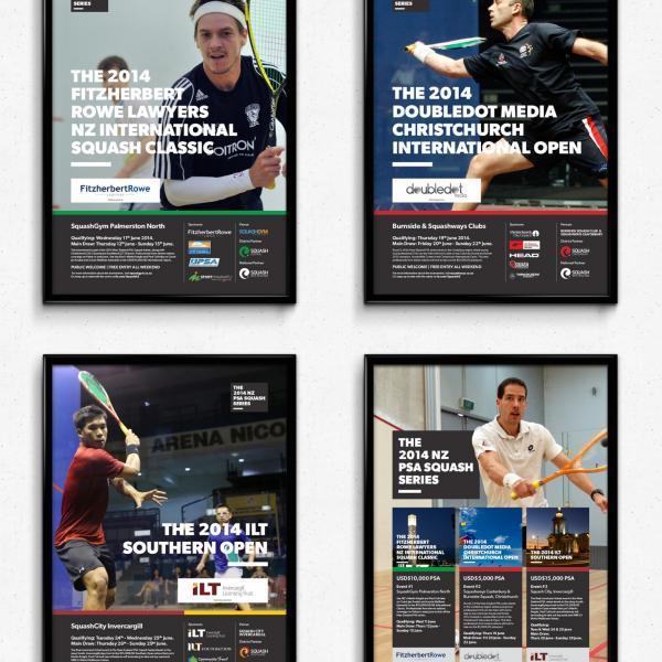 Squash New Zealand Posters